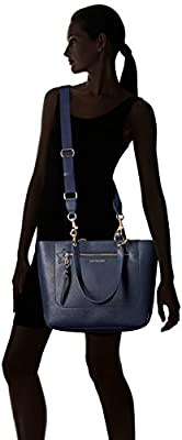 Tommy Hilfiger Item Travel Tote Bag for Women, Tommy Navy