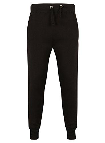 Éclair Jogging Pour Polaire Survêtement Sweat Complet À Fashion Homme Uni Tone Fabrica Capuche Black 3 Fermeture Tl3F1uKJc