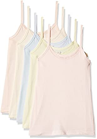 RUPA JON Women's Cotton Camisole (Pack of 5)(Colors May Vary)
