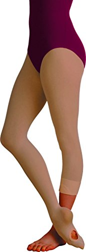 - Body Wrappers Women's Total Strech Convertible Tights - A31, Suntan, Large/XL