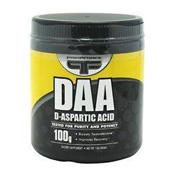 PrimaFORCE Daa D-Aspartic Acid 100 grams Pwdr by Primaforce