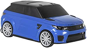 Range Rover SVR Kids Car with Toy Storage - Blue / Red / White 8005-69