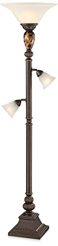 Kathy Ireland Mulholland Tree Torchiere Floor Lamp (Tree Torchiere)