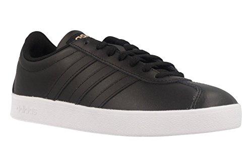 Scarpe Da Ginnastica Adidas Da Donna Vl Court 2.0 W, Nero Nero (negbas / Negbas / Ftwbla 000)