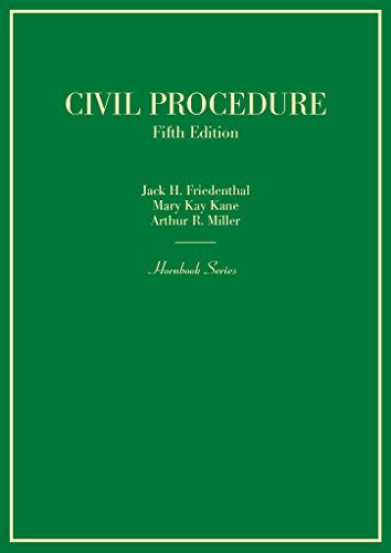 Civil Procedure (Hornbooks)