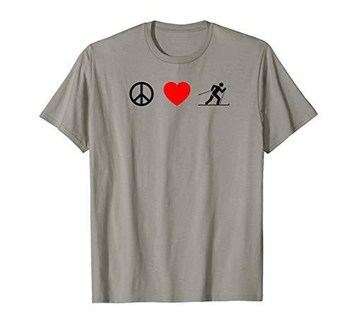 Peace Love XC Ski Cross Country Telemark ()