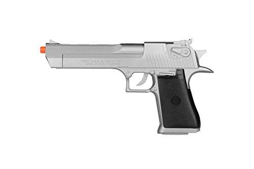 Desert Eagle KWC Magnum Licensed 44 Airsoft Spring Pistol Silver ()
