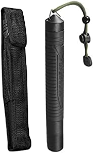 Trekking Pole, Collapsible and Telescopic Hiking Pole Walking Sticks with Small Handbag for Men and Women, Eas