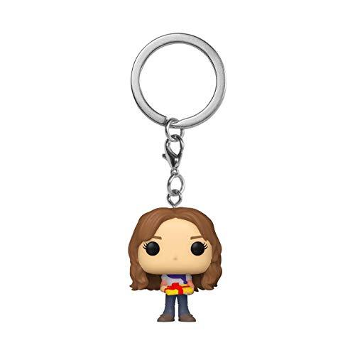 Funko Pop! Keychain: Harry Potter Holiday - Hermione Garnger, Multicolor (51206)
