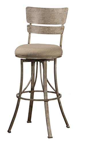Hillsdale Furniture 6318-826 Wakefield Counter Stool, Height, Champagne (Chair Hillsdale Fabric)