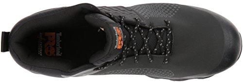 5d7f5e0d081 Timberland PRO Men's Ridgework Mid Industrial Boot, Black, 7 M US