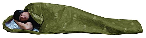 S.O.L Survive Outdoors Longer 70% Reflective Escape Bivvy, Green