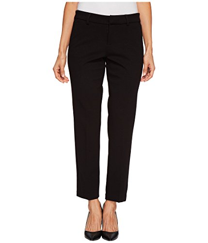 (Liverpool Jeans Company Women's Petite Kelsey Straight Leg Trouser in Super Stretch Ponte, Black, 10P)