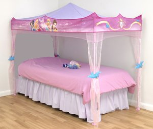 Disney Princess Bed Canopy - Stands over single size bed & Disney Princess Bed Canopy - Stands over single size bed: Amazon ...