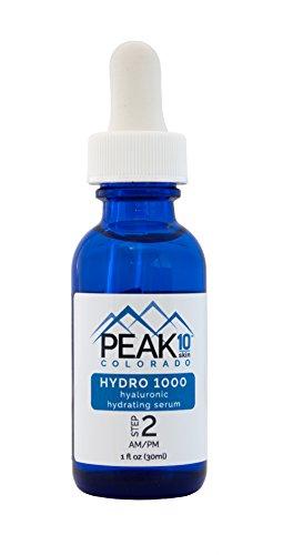 PEAK 10 SKIN - Hydro 1000 Hyaluronic Serum hydrate + oil control 1oz
