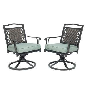 Bellaire Swivel Patio Chairs (Set Of Two) (Sets Living Martha Patio)