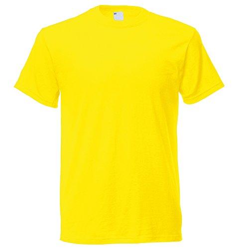 Bright Yellow T-shirt (Universal Textiles Mens Short Sleeve Casual T-Shirt (X Large) (Bright Yellow))