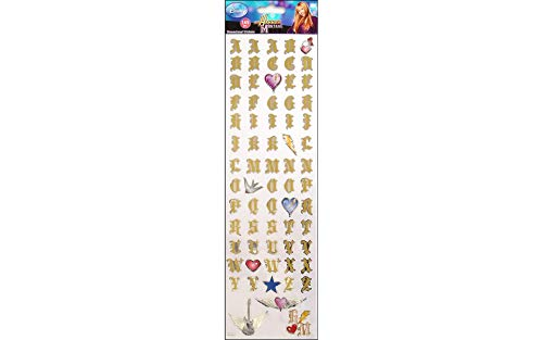 Disney(R) Dimensional Alphabet Stickers - Hannah Montana