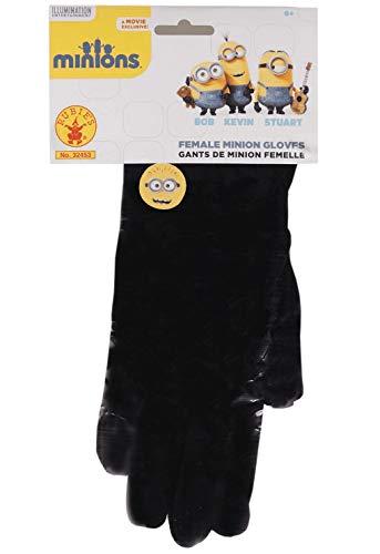 Rubie's Women's Minion Gloves, Black, One Size ()