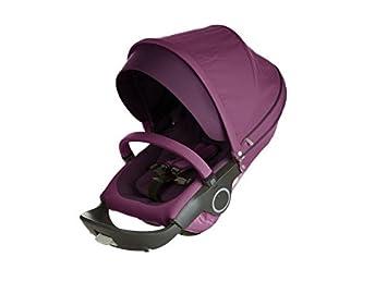 Amazon.com: Stokke carriola Asiento textil Set, Color Morado ...