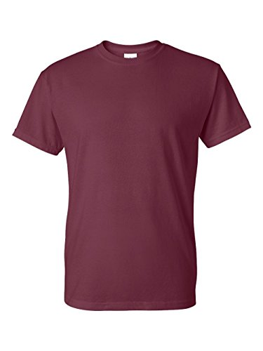 Gildan mens DryBlend 5.6 oz. 50/50 T-Shirt(G800)-MAROON-5XL by Gildan