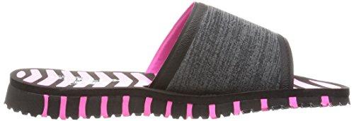 Flex Flop Skechers Hot Rely Go Women's Performance Flip Pink Black PwnTq1