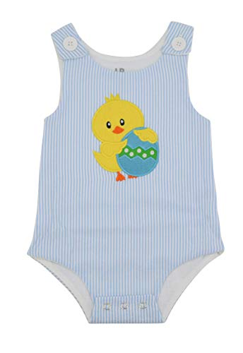 Unique Baby Boys Easter Chick Jon Jon Outfit (3 Months) Blue]()