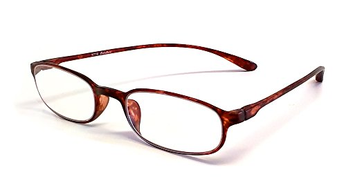 Calabria Reading Glasses - 718 Flexie in Tortoise (+0.75)