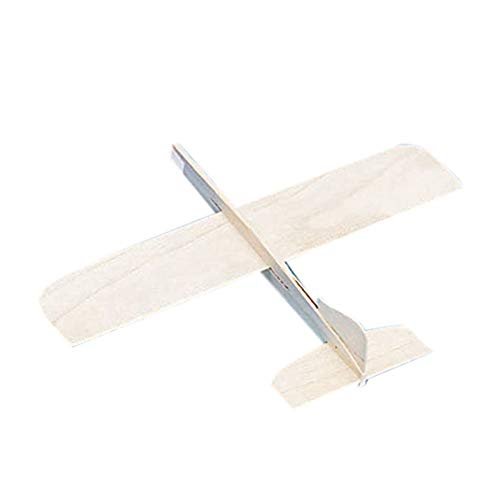 S&S Worldwide 25-1 PK36 Balsa-Wood Top Gun Glider Model Plane (Pack of 36)