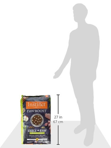 Instinct Raw Boost Healthy Weight Grain Free Recipe with Real Chicken Natural Dry Dog Food by Nature's Variety, 20 lb. Bag by Instinct (Image #9)