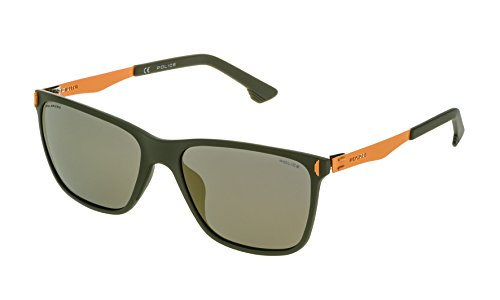 Sunglasses Police SPL 365 Matt Army - Police Sunglasses Men