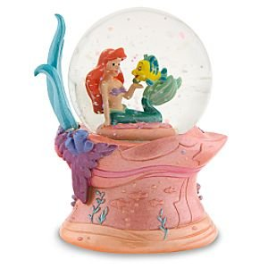 Amazon Com Disney Mini The Little Mermaid Snowglobe Home