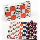 NCAA Auburn Tigers Miniature Helmets Checker Set
