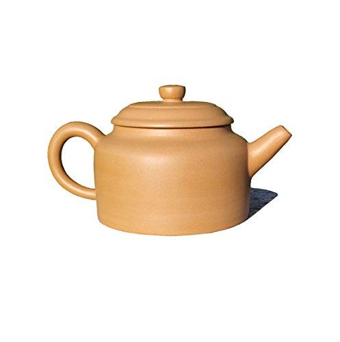 Yixing Teapot Handmade Noble Tea Pot,Nature Yellow Clay,150cc