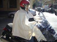 Capa de Agua para Moto (AZUL) Barmanbrand P1B