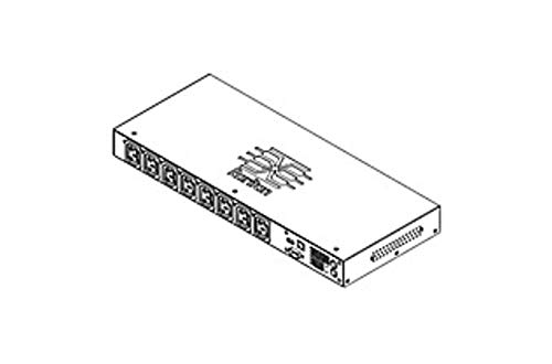 Raritan Dominion PX-2000 PX2-2166R 8-Outlets 1.9kVA PDU - 8 x IEC 60320 C13-120 V AC - 1900 VA - Network (RJ-45) - 1U - Horizontal - Rack Mount (Certified Refurbished)