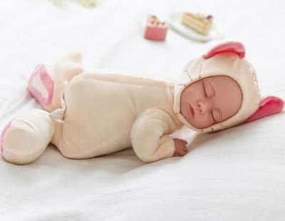 25CM Mini Stuffed Baby Born Doll Toys For Children Silicone Reborn Alive Babies Lifelike Kids Toys Sleep Reborn Doll For Kid...
