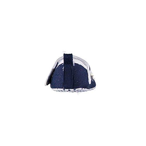 Brums 171belp003 - Patucos de Lona para niña azul Size: Blu (Blu 13)
