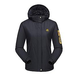 Women's Winter Hooded Breathable Waterproof Outdoor Coat Windbreaker