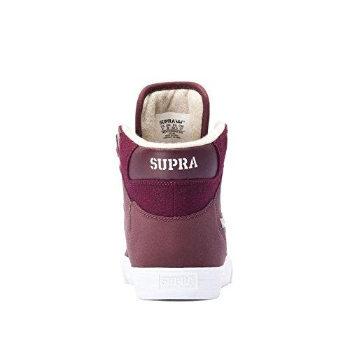 Vaider Supra Lc Sneaker Bordeaux Bianco