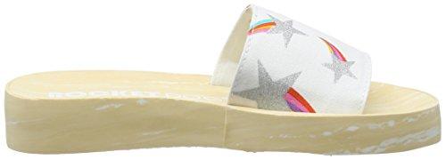 Marko Platform Sandalo Donna bianco Bianco zTdq0pw