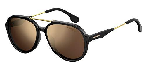 Carrera Gradient Aviator Unisex Sunglasses – (CARRERA 1012/S 807 56K1 56 Brown Color Lens)