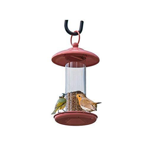 NYDZDM Bird Feeder Mini Feeder with Hanger for Wild Birds - Sunflower Seed Mixes Hanging Feeder Tube