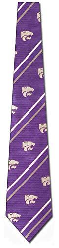 - NCAA Kansas State Wildcats Cambridge Tie - Purple/Gray