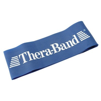Exercise Loop Size: 18'', Resistance/Color: Extra Heavy/Blue by TheraBand