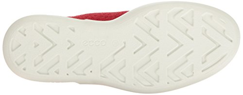 Chili Women's 3 Red Fashion Soft ECCO Red Sneaker Chili dZ4qwZxFX