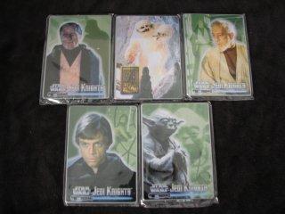 Star Wars Jedi Knights Metal Framed Cards