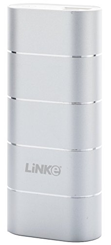 Power Bank, Linke POWERUP! Series Ultra Compact Portable Charger 6700MAH Premium Aluminum Casing LG Battery Fast Charging External Battery Power Bank 5V2.4A for Mobile Device, Cell Phone, iPhone, iPad, Samsung Galaxy, Blackberry, iPod, MP3, PSP, PDA, GPS and Most USB Devices