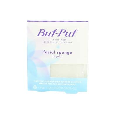 Buf-Puf Regular Facial Sponge 1 Each (Pack of 12)