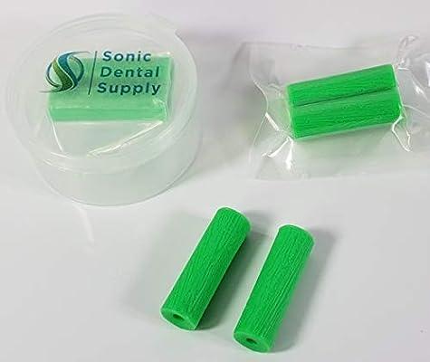 Sonic Dental – Alineador Chewies para bandejas de invisalina, sabor verde/menta, 2 unidades con estuche: Amazon.es: Belleza